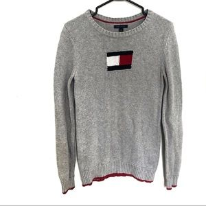 Tommy Hilfiger Flag Sweater 100% Cotton | Sx- S